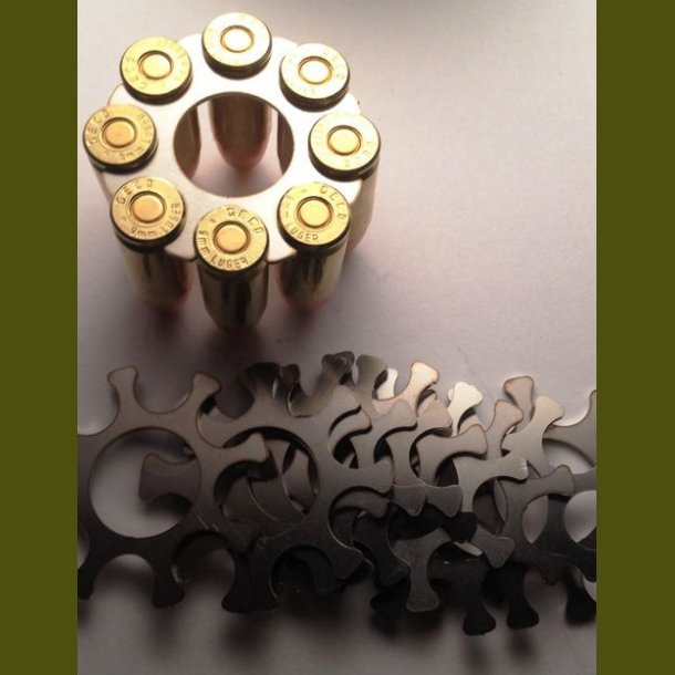 10 stk Moonclips 38 special - 357 mag s&w model 627 8 skud
