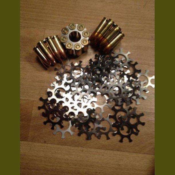 50 stk moonclips STARLINE Hylstre .38 short colt - 38 special ( S&W 627+327) 8 skud