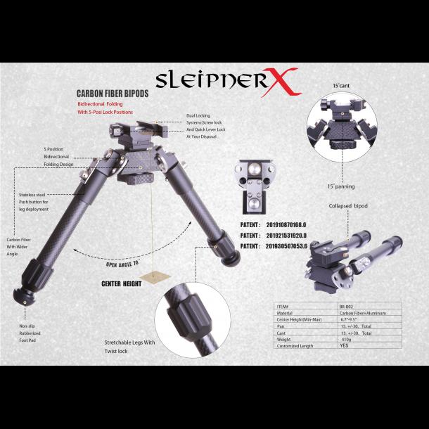 Sleipner X Bipod gen.2